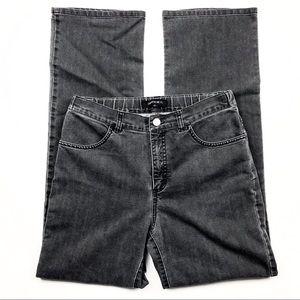 Lafayette 148 New York Jeans Elastic Black Denim 6